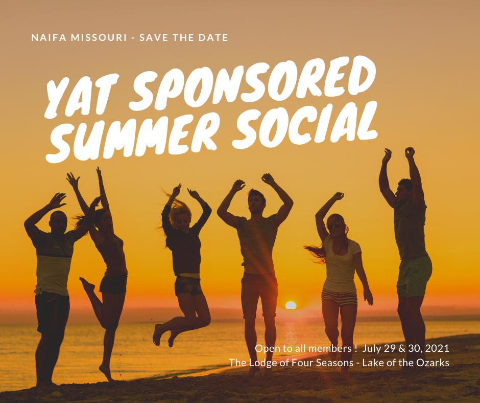 YAT Sponsored Summer Social - The Lodge of Four Seasons